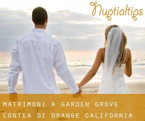 matrimoni a Garden Grove (Contea di Orange, California)