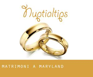 matrimoni a Maryland